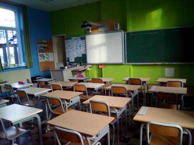 Salle de réunion...comme à l'école !